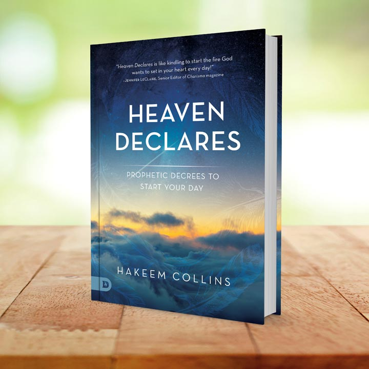 Buy Heaven Declares by Hakeem Collins Today!